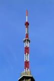башня антенны tv Стоковое Изображение