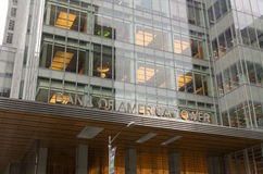 башня банка америки Стоковое Изображение