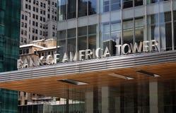 башня банка америки Стоковая Фотография RF