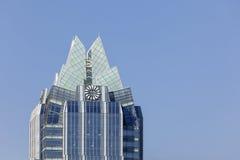Башня банка Frost в Остине, Техасе Стоковое Изображение