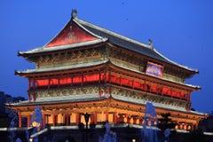 Башня барабанчика в Xian стоковая фотография rf