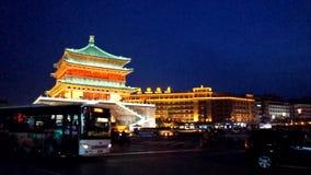 Башня барабанчика Xi'an сток-видео