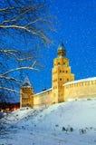 Башня башни Kokui и заступничества Новгорода Кремля Стоковое Фото