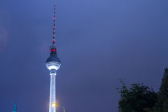 Башня Берлина TV Стоковые Изображения RF