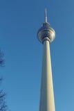 Башня Берлина TV Стоковое Изображение RF