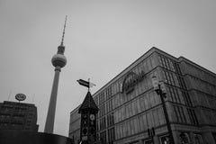Башня Берлин Германия TV Стоковые Изображения RF