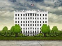 Башня Белого Дома Стоковая Фотография