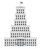 Башня Белого Дома Стоковые Фото