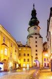 Башня Братиславы - Майкл (Michalska Brana), Словакия. стоковые изображения rf