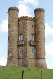 Башня Бродвей - сумасбродство в Cotswolds Англии Стоковые Изображения