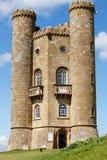 Башня Бродвей - сумасбродство в Cotswolds Англии Стоковая Фотография