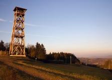 Башня бункера и бдительности Стоковые Фото