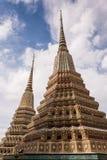 Башня 2 Будды королевского дворца в Bankok Стоковая Фотография