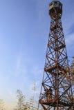 Башня бдительности лесного пожара Стоковые Фото