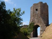 Башня бдительности замка Стоковые Изображения