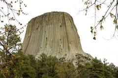 башня Вайоминг дьяволов Стоковые Изображения