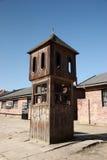 Башня вахты, Освенцим стоковые фотографии rf