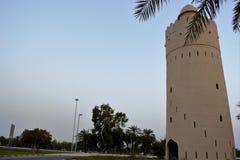 Башня вахты, Al Maqta, Абу-Даби Стоковая Фотография RF