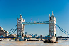 башня Великобритания london моста стоковые изображения