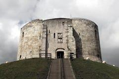 башня Великобритания york clifford Стоковое Изображение RF