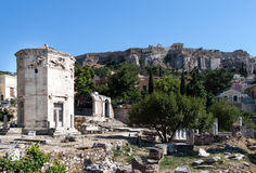 Башня ветров Афиныы Греции Стоковые Фотографии RF