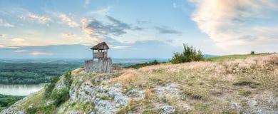 Башня взгляда на холме Стоковое Изображение RF