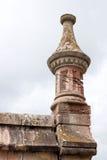 Башня виска с влияниями размывания Стоковое Фото