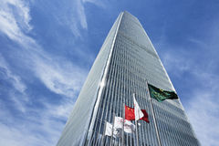 Башня 3 всемирного торгового центра Китая, Пекин, Китай Стоковое фото RF