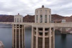 Башня входа на запруде Hoover в США Стоковые Фотографии RF
