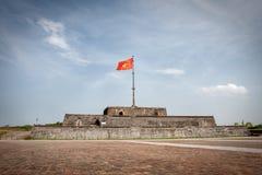 башня Вьетнам флага Стоковое Фото