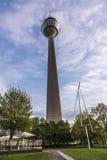 Башня в Дюссельдорфе, Германия радиосвязей Стоковое фото RF