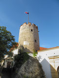 Башня в замке Mikulov Стоковое Изображение