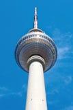Башня в Alexanderplatz, Берлин Tv Стоковое Изображение