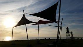 Башня в Northsea Стоковые Фотографии RF