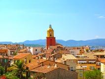 Башня в St Tropez в Франции стоковая фотография rf