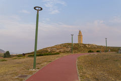 Башня Геркулеса Стоковое Фото
