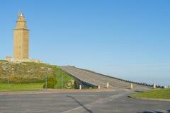 Башня Геркулеса Стоковые Изображения