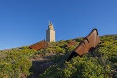 Башня Геркулеса Стоковая Фотография