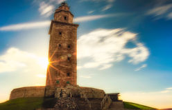 Башня Геркулеса Стоковые Фото