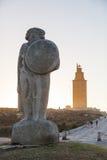 Башня ` Геркулеса Стоковые Фотографии RF
