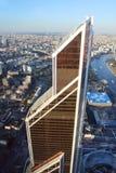 Башня города Меркурия, взгляд от башни федерации, России Стоковые Фото