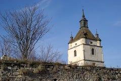 башня города средневековая Стоковая Фотография