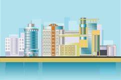 башня города Стоковые Изображения RF