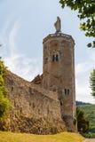 Башня городища ramparts Autun стоковая фотография