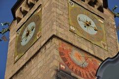 Башня города Инсбрука, Тироль, Австрия Стоковые Фотографии RF