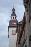 Башня городка, башня с часами стоковые изображения rf