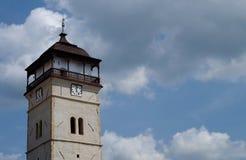 Башня городка, город Roznava, Словакия стоковое фото