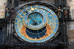 Башня городской площади и астрономических часов Праги старая, Прага, чехия Стоковое Изображение