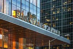 Башня Государственного банка Америки Стоковые Фото