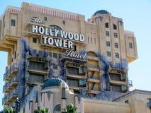 Башня Голливуда террора Стоковые Изображения